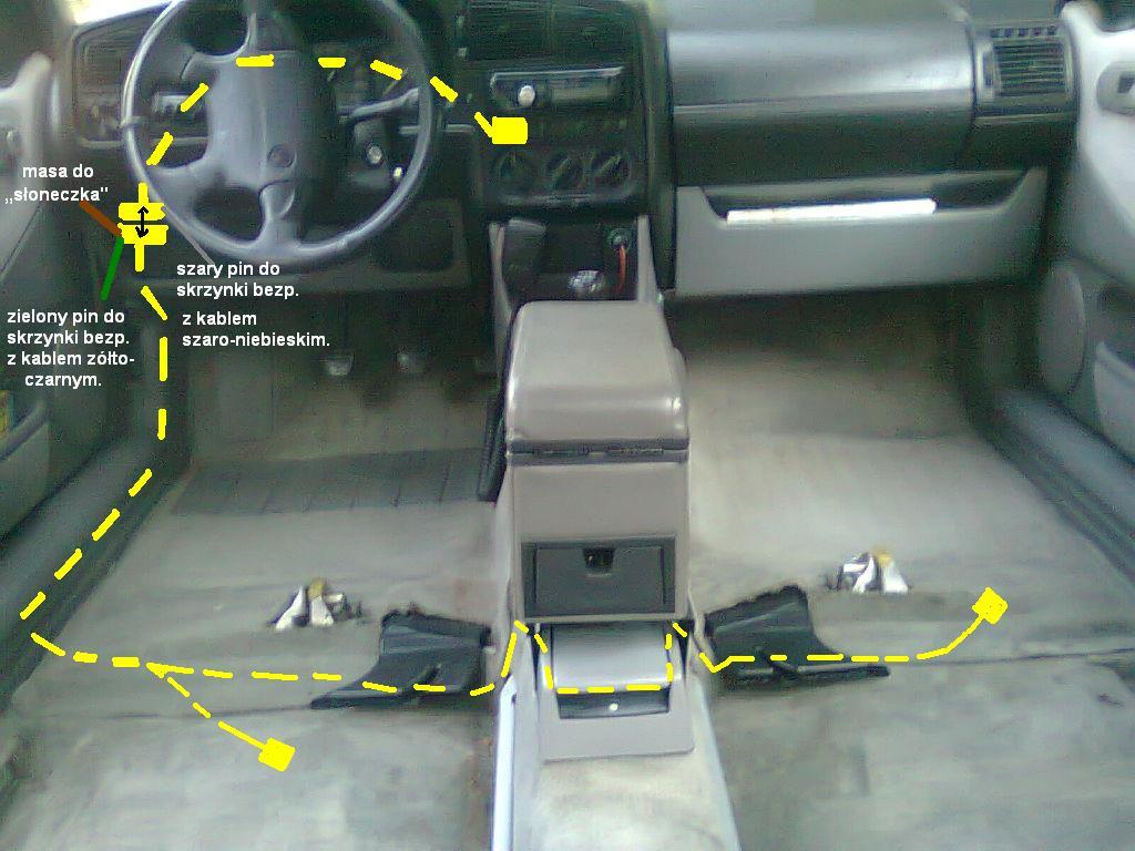 schemat podpi u0119cia elektrycznie regulowanych foteli i